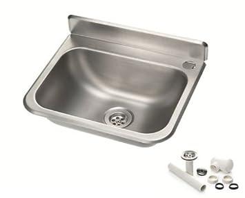 handwaschbecken waschbecken becken aus chrom nickel stahl