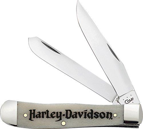 ケースハーレーダビッドソン52140トラッパー6254 SSナチュラルボーンハーレーダビッドソンナイフ B01BI7FNZU
