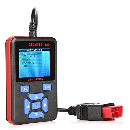 PowerLead Cadt PL-OM580 OBD MATE OM580 OBDII OBD2 EOBD Trouble Code Reader...