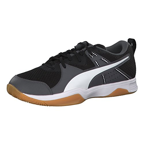 Puma Unisex-Erwachsene Stoker.18 Handballschuhe Schwarz (Puma Black-puma White-iron Gate-gum 1)