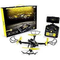 Airhawk M-13 Predator Drone With HD Wi-Fi Streaming, Yellow