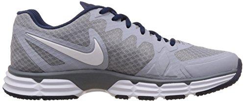 Nike Dual Fusion TR 6 Männer Runde Toe Synthetische Trail Running Wolf Grau / Weiß - Cool Grey
