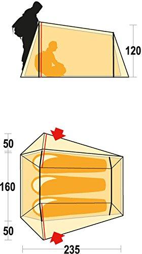One Size Rot Ferrino Lightent Zelt