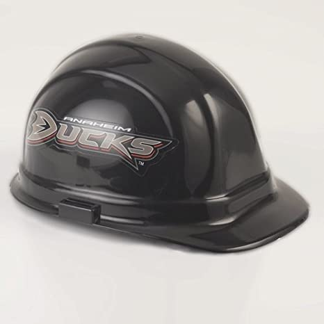 Amazon.com  Wincraft NHL Anaheim Ducks Packaged Hard Hat  Sports ... 8e598b7c05a