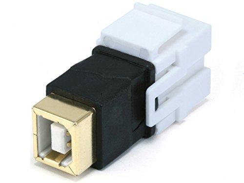 Monoprice 106562 Keystone Jack USB Coupler