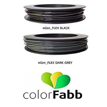 COLORFABB NGEN FLEX Flexible Filament 50g Splash Spool 1.75 OR 2.85