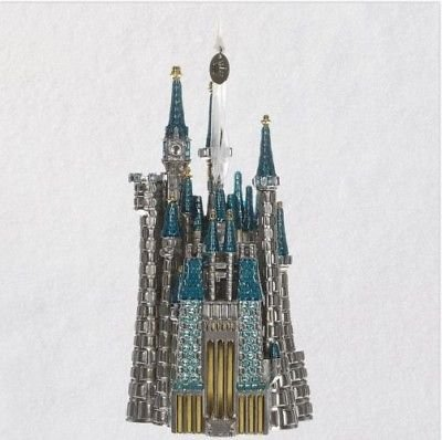 Hallmark 2018 Disney Cinderella's Castle Metal Ornament Disneyland
