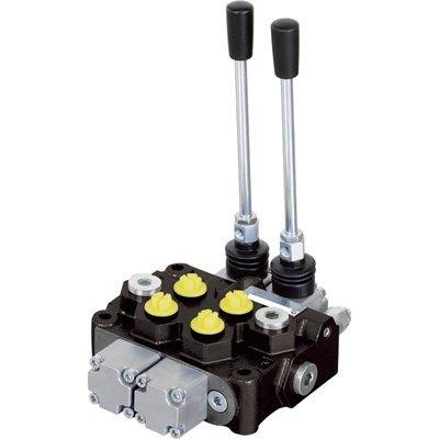 NorTrac Monoblock Hydraulic Control Valve - 12 GPM, 2 Spool by NorTrac (Image #1)