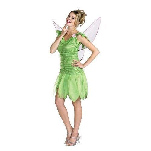 Tinker Bell Rainbow Deluxe Costume - Large - Dress Size 12-14]()