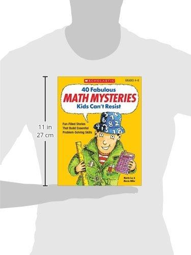 Amazon.com: 40 Fabulous Math Mysteries Kids Can't Resist (Grades 4 ...