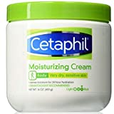 Cheap Cetaphil Moisturizing Cream for Dry/Sensitive Skin, Fragrance Free 16 oz