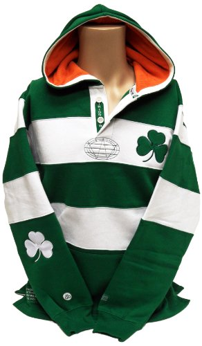 Authentic Women Sweater Dress (Ireland Rugby Shirt Hoodie, Large)