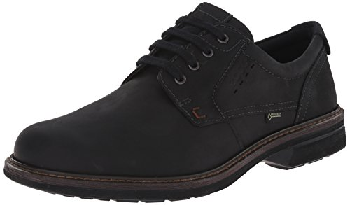 ECCO Men's Turn GTX Plain Toe Oxford, Black, 44 EU/10-10.5 M US ()