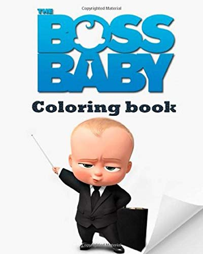The Boss Baby Coloring Book A Coloring Book For Kids Boys Girls 30 Pages The Boss Baby Coloring Book Khalid S 9798637203840 Amazon Com Books