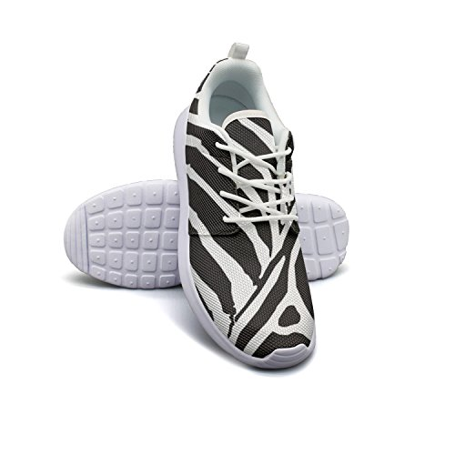 Armsttm Womens Lightweight Fashion Sneakers Zebra Pattern Hug Casual Running Shoes by Armsttm