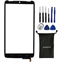 sunways Touch Digitizer Screen Glass Replacement Compatible with Motorola Droid Turbo XT1254