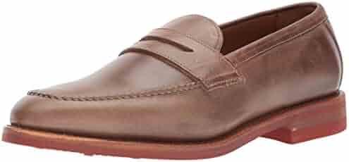 f33434001e5 Allen Edmonds Men s Addison Moc-Toe Slip-on with Saddle and Collar Penny  Loafer