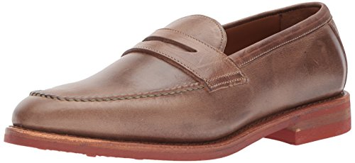 Allen Edmonds Men's Addison Moc-Toe Slip-on with Saddle and Collar Penny Loafer, Natural Chromexcel, 8.5 D US