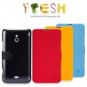 NILLLKIN Fresh Series PU Leather Case For Nokia Lumia 1320 --- Color:Blue