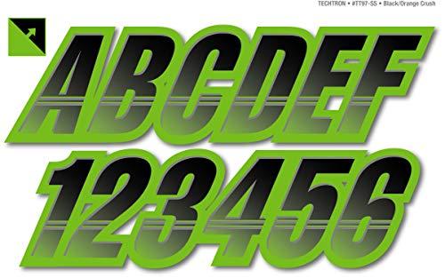 Stiffie Techtron Black/Team Green Super Sticky 3