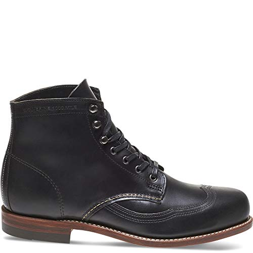Black Boot Addison 1000 Mile Wolverine Wingtip xBRFnBU