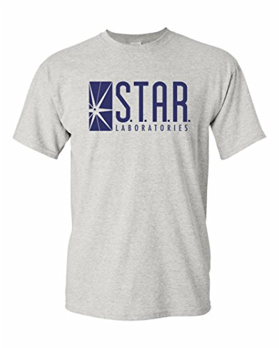 Star Labs Adult DT T-Shirt Tee (M, Ash) ()