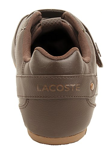 Lacoste Protected Prm Men's Strap Fashion Sneakers Shoes Brn Size 9.5