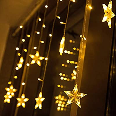 Star Light Led Small Light Curtains String Fairy Lights For Outdoor Wedding Christmas Party Decoration Buy Online At Best Price In Uae Amazon Ae