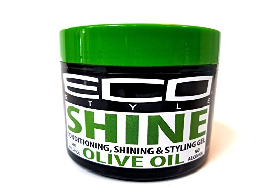 Eco shine olive oil conditioning styling gel 10. oz