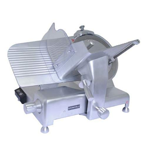 Uniworld Aluminum Electric Meat Slicer with Stainless Steel 14