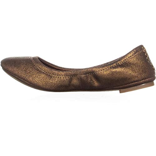 Lucky Powder Emmie Brown Bronze Metallic Ballet Brand Women's xxqwRZaP