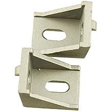 Iztor 10PCS 3030 corner Bracket fittings Industrial Aluminum L Connector Fasten connector