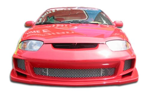 Duraflex ED-IGE-042 Bomber Front Bumper Cover - 1 Piece Body Kit - Compatible For Chevrolet Cavalier 2003-2005
