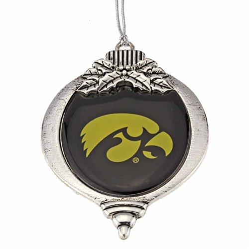 MadSportsStuff University of Iowa Hawkeyes Christmas Ornament (Iowa University Christmas Ornaments Of)