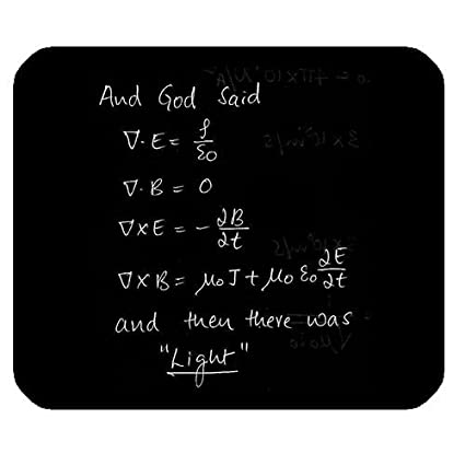 Amazon com : WECE Funny Mathematical Math Formulas Mousepad, God