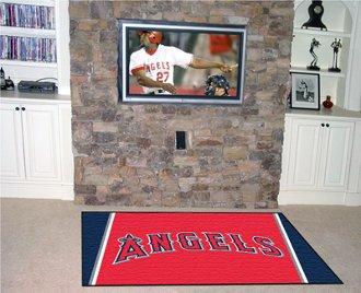 (Fanmats MLB - Los Angeles Angels 5 x 8 Rug)