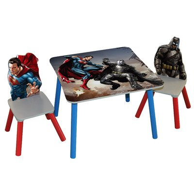 O' Kids Inc. Durable Kid's 3-Piece Rectangle Table and Ch...