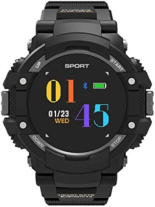 Reloj inteligente NO.1 F7 con monitor de temperatura y frecuencia cardíaca en tiempo real, altímetro, barómetro, brújula, GPS, para deportes y actividades al aire libre