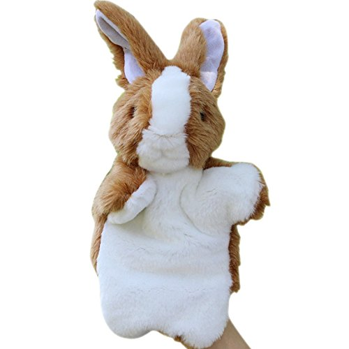 Happy Cherry Children Babys Puzzle Hand Puppet Plush Toys Rabbit Model Hand Dolls - (Rabbit Plush Hand Puppet)