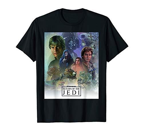 - Star Wars Celebration Mural Return of the Jedi Logo T-Shirt