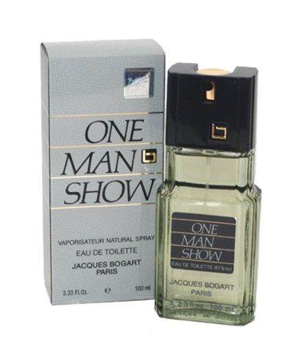 One Man Show By Jacques Bogart For Men. Eau De Toilette Spray 3.33 Oz