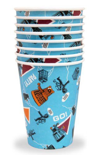 Doctor Who 200ml Paper Cups