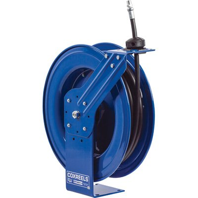 Coxreels Heavy-Duty Medium & High-Pressure Hose Reel - For Oil, 1/2in. x 35ft... by Coxreels