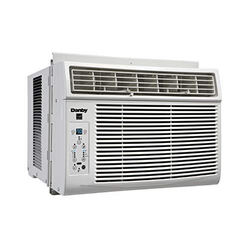 Danby 6,000 BTU Window Air Conditioner with Remote Control, White DAC060EB1WDB