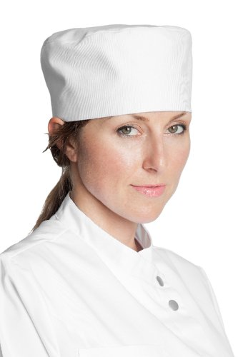fiumara-apparel-skull-cap-beanie-with-velcro-closure-poly-cotton-ideal-for-professional-chef-hat-whi