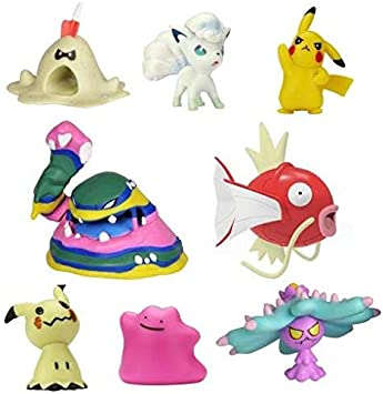 Pokemon Pack de 8 Figuras (BIZAK 63225320): Amazon.es: Juguetes y juegos