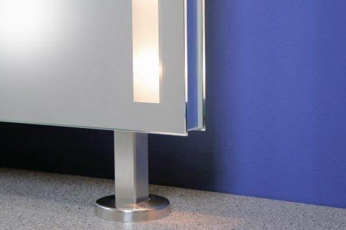 Spiegel Raumteiler spiegel raumteiler cleo stare illuminare 80x60cm amazon de küche