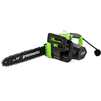 Greenworks 14-Inch 10.5-Amp Corded Electric Chainsaw