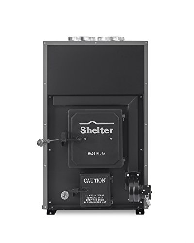 Shelter SF1000 Indoor Wood Burning Add-On Furnace
