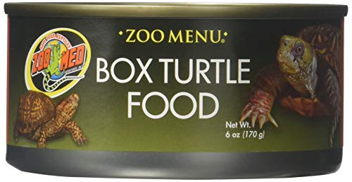 Zoo Med Box Turtle Food 6 Oz (Pack Of 3) (Box Turtle Canned Food)
